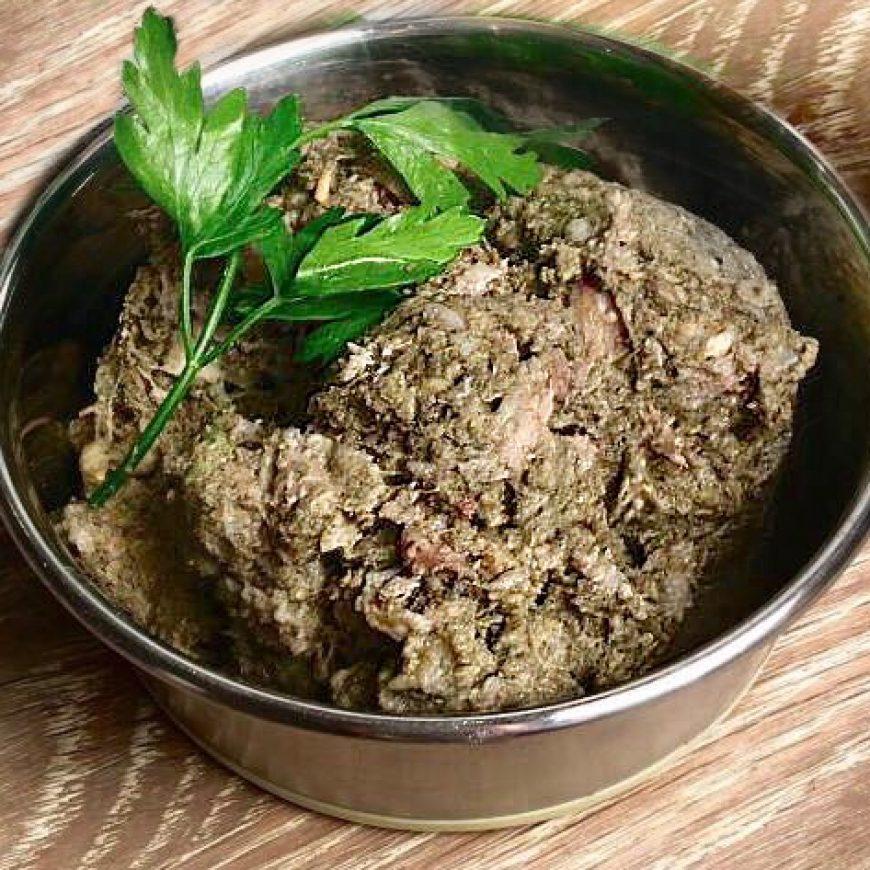 Зелен телешки стомах (шкембе) -СУПЕРХРАНАТА за кучетата и котките! Колкото по-миризливо, толкова по-добре!